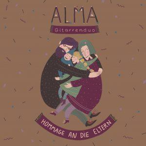 CD Cover des ersten Albums Hommage an die Eltern
